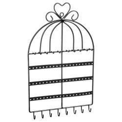 Organizer na biżuterię Birdcage czarny