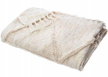Narzuta na łóżko Shine 130x180 cm beżowa