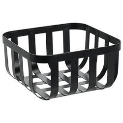 Koszyk metalowy czarny Loft 19,5 cm