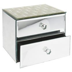 Szkatułka na biżuterię dwie szufladki