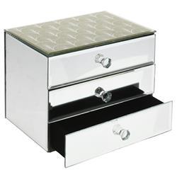 Szkatułka na biżuterię trzy szufladki