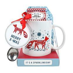 Zestaw świąteczny Kubek + kawa 300 ml