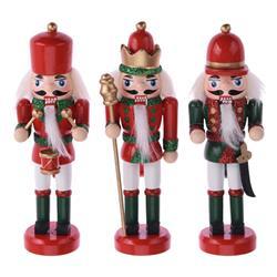 Ozdoby świąteczne Nutcracker 3 szt