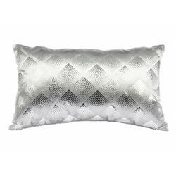 Poduszka dekoracyjna Velvet srebrna 50cm