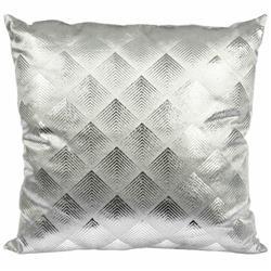 Poduszka dekoracyjna Velvet srebrna 45cm