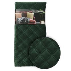 Poszewka na poduszkę zieleń wzór 1