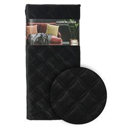 Poszewka na poduszkę czarna wzór 1