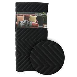 Poszewka na poduszkę czarna wzór 2
