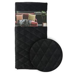 Poszewka na poduszkę czarna wzór 3