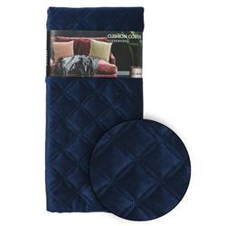 Poszewka na poduszkę granatowa wzór 1