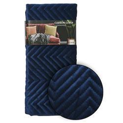 Poszewka na poduszkę granatowa wzór 2