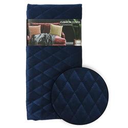 Poszewka na poduszkę granatowa wzór 3
