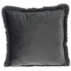 Poduszka Velvet szara 45x45 cm
