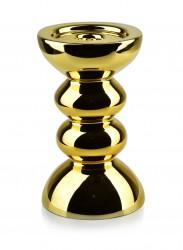 Świecznik Rita złoty 20 cm