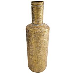 Wazon metalowy antyczne złoto 53 cm