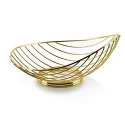 Koszyk dekoracyjny Cedric Gold Slim