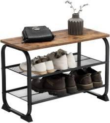 Ławka półka na buty do przedpokoju LOFT